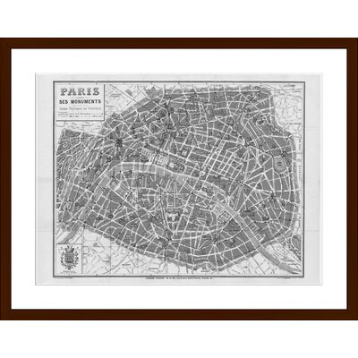 Paris 1926, Framed Paper Print Size: 15