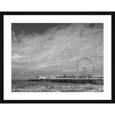 Pier, Framed Paper Print Size: 15