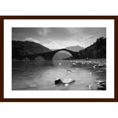 Ponte del Diavolo, Framed Paper Print Size: 14