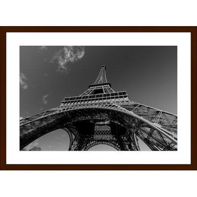 Eiffel Tower, Framed Paper Print Size: 14
