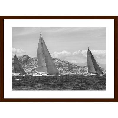 Regatta, Framed Paper Print Size: 14