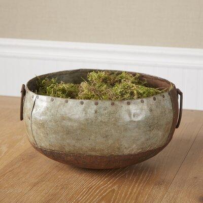 Reclaimed Metal Bowl