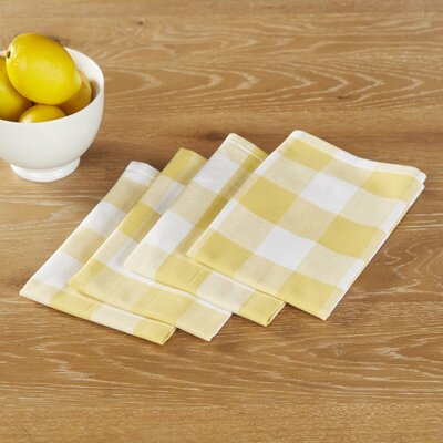 Maurice Napkins (Set of 6) Color: Yellow
