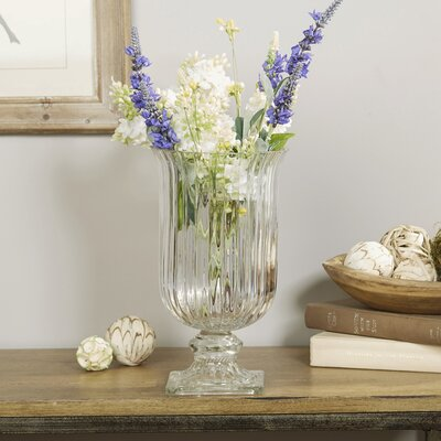 Fluted Glass Vase
