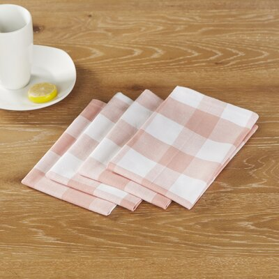 Maurice Napkins (Set of 6) Color: Pink