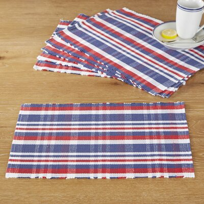 American Plaid Placemats (Set of 6)