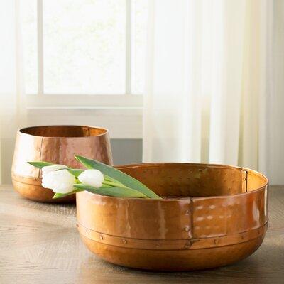 Sonoma 2 Piece Hammered Bowl Set