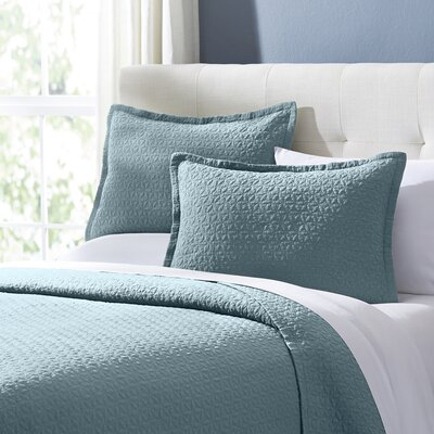 Marielle Quilt Set Size: Twin, Color: Aegean