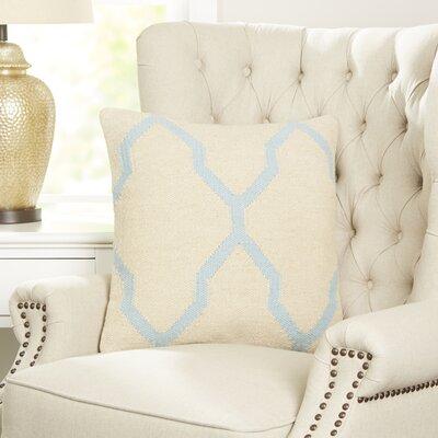 Becca Decorative Pillow Cover Color: Light Blue