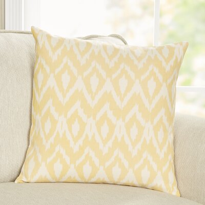 Tara Pillow Cover Color: Yellow