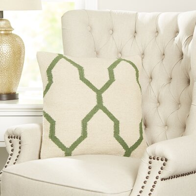 Becca Decorative Pillow Cover Color: Green
