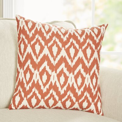 Tara Pillow Cover Color: Orange