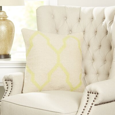 Becca Decorative Pillow Cover Color: Lime Green