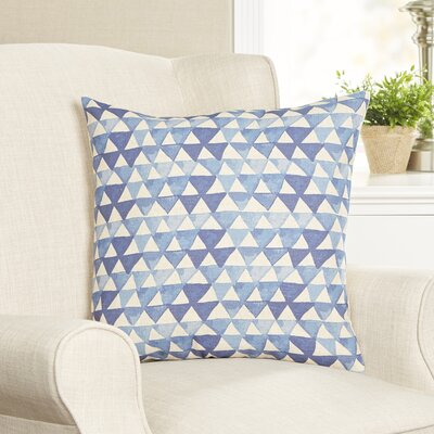 Geometric Triangles Pillow Cover
