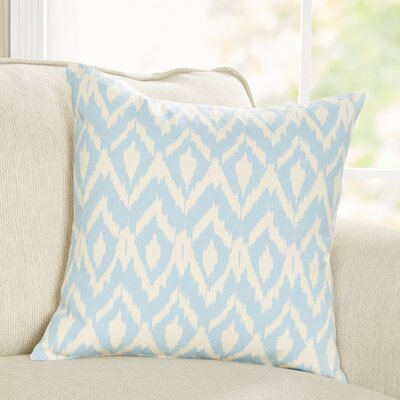 Tara Pillow Cover Color: Blue