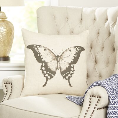 Butterfly Entymology Pillow Cover