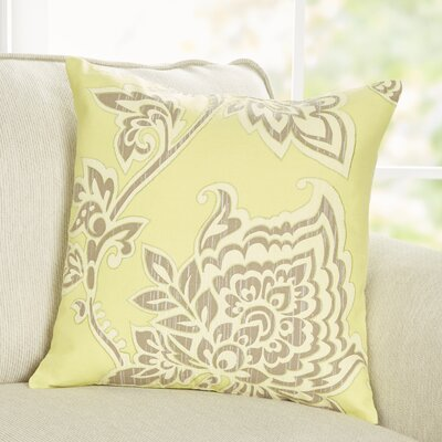 Penelope Pillow Cover Size: 18 x 18, Color: Lime Green