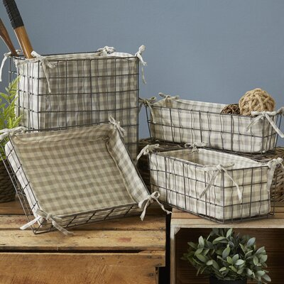 4-Piece Mason Basket Set
