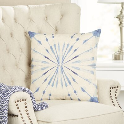 Watercolor Pillow Cover Size: 16