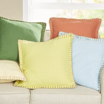 Adalyn Pillow Cover Color: Coral