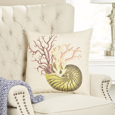 Bountiful Shell Pillow Cover