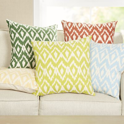 Tara Pillow Cover Color: Lime Green