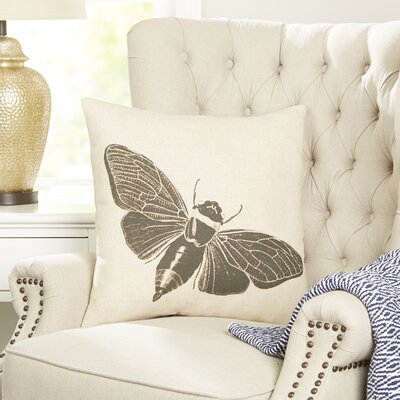 Moth Entymology Pillow Cover