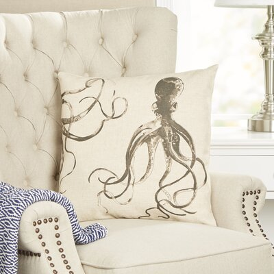 Octopus Ink Pillow Cover