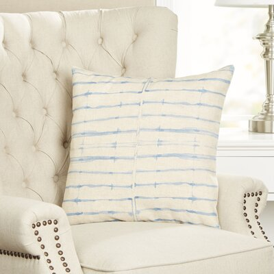 Color Wash Striped Pillow Cover