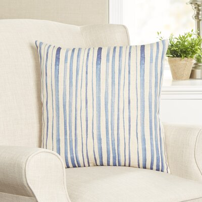 Batik Striped Pillow Cover