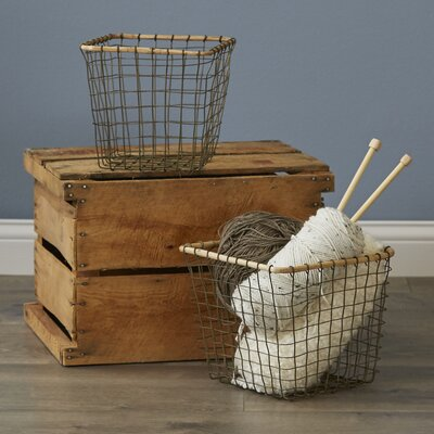 Fitchburg Square Wire Baskets
