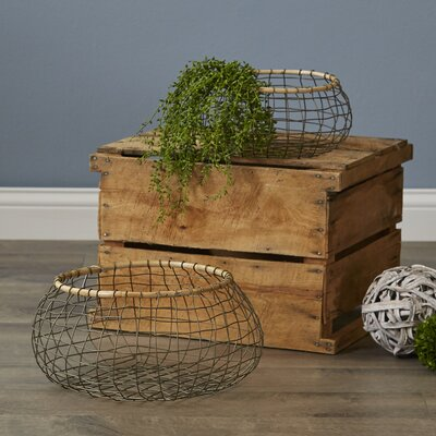 Fitchburg Round Wire Baskets