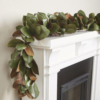 Faux Magnolia Leaf Garland
