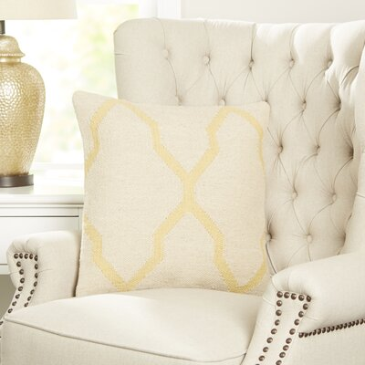 Becca Decorative Pillow Cover Color: Yellow