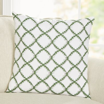 Luna Pillow Cover Color: Green
