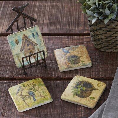 Spring Garden Coaster Set