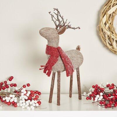 Birch Lane Glittering Reindeer Decor