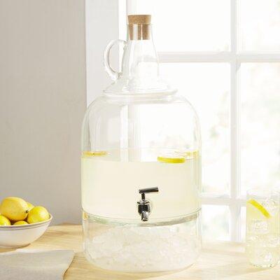 Glass Jug Beverage Dispenser