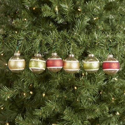 Ornate Balls 6-Piece Ornament Set