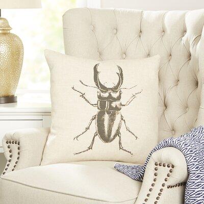 Rhino Beetle Entymology Pillow Cover