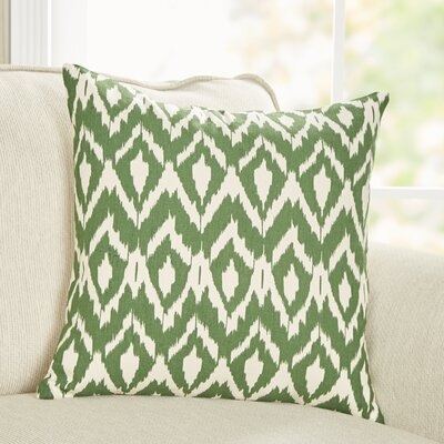 Tara Pillow Cover Color: Green