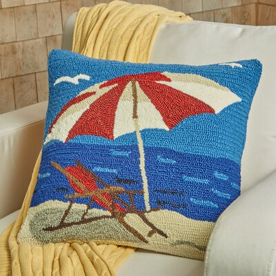 Seaside Lounge Throw Pillow