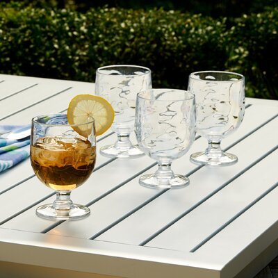 Cortona Stacking Goblets Color: Clear