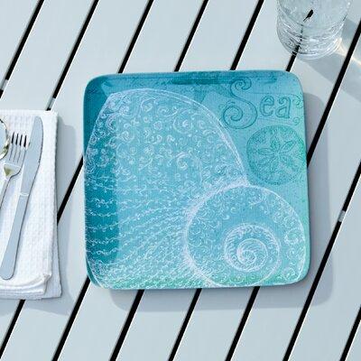 Seacoast Melamine Dinner Plate