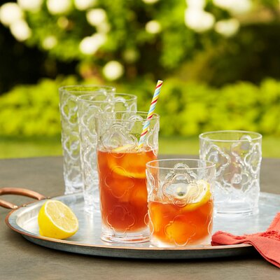 Riviera Plastic Double Old-Fashioned Glasses