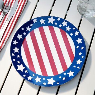 Yankee Doodle Melamine Dinner Plate