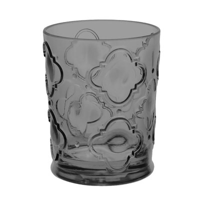 Riviera Plastic Double Old-Fashioned Glasses Color: Gray