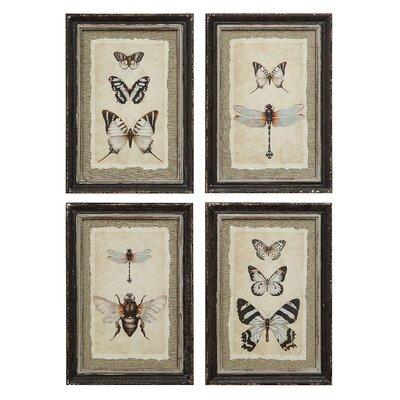 Butterfly & Bee Wall Art
