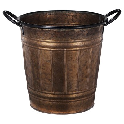 Keyes Metal Pot Planter