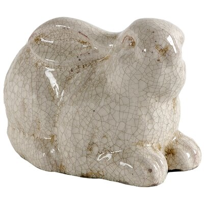 Glazed Rabbit Statue